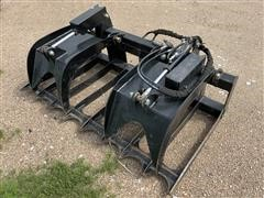 2015 Dougherty Forestry HD12 Rock & Root Grapple Attachment