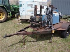Miller Bluestar 2E & Roughneck 1E Portable Welders On Transport