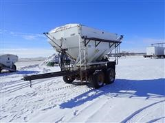 2003 Homemade 9X11 T/A Tender Trailer W/Willmar Box
