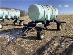 Duo Lift 1000-Gallon Poly Nurse Tank
