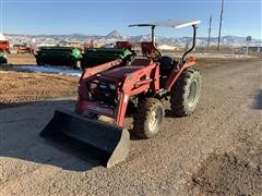Massey Ferguson 1433V MFWD Compact Utility Tractor W/Loader