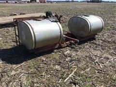 Chem-Farm Galvanized Saddle Tanks