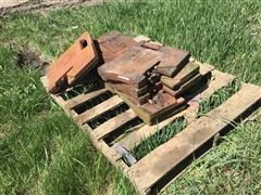 Case IH 100 Lb Suitcase Tractor Weights