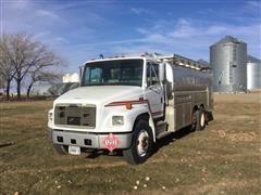 2000 Freightliner FL70 T/A Fuel Truck W/2700-Gal Tank