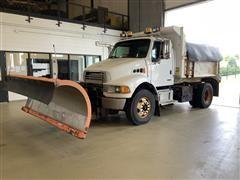 2004 Sterling Acterra S/A Dump Truck W/10' Snowplow & Spreader