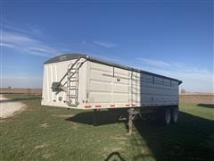 2006 Neville 28' Steel Hopper Bottom T/A Grain Trailer