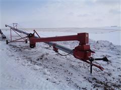 2013 Peck 1004 - 81 Portable Grain Auger W/Lo-Profile Roll Away Hopper