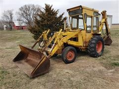 Case 580CK 2WD Loader Backhoe