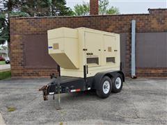 2007 Kohler 55KW Trailer Mount Towable Generator