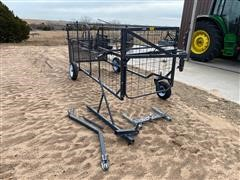 Safety Zone UTV Calf Catcher