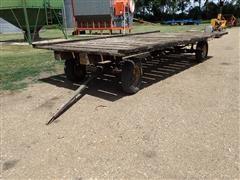 John Deere Gear & 9' X 18' Hay Rack