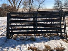 HW Brand Steel Cattle Pen Panels