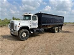 1985 Mack Econodyne R686ST T/A Grain & Dump Truck