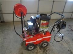 2013 Hotsy 555 SS 214,300 BTU Diesel Burner Power Washer