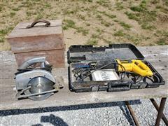 Craftsman Circular Saw & DeWalt Reciprocating Saw