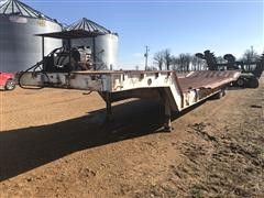 1978 Muv-All T/A Fixed Neck Lowboy W/Hyd Tail Section