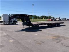2014 Load Trail 40' Low-Pro Hydraulic T/A Gooseneck Equipment Trailer