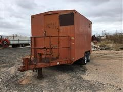 1971 Belshe T/A Enclosed Office Trailer