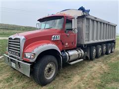 2012 Mack GU713 5 Axle Dump Truck
