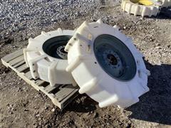 Mach II 11X22.5 Poly Pivot Tires & Valley Rims