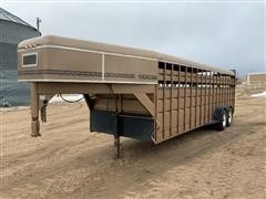 1994 Travalong 24' T/A Livestock Trailer