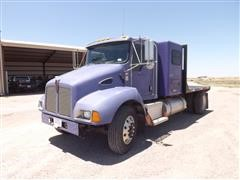 2003 Kenworth T300 S/A Truck W/10' Flatbed