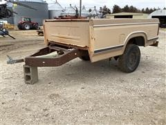 Shop Built 8' Pickup Box Trailer
