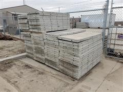 Wall-Ties & Forms Aluma-Ply Concrete Wall Forms