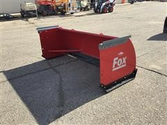 Hiniker Fox 8' Snow Pusher Skid Steer Attachment