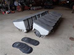 Case IH 1230 Seed Boxes W/lids & Meters
