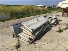 """Aluminum Ventilation Doors w/ 3"""" Ventilation Pipe"""