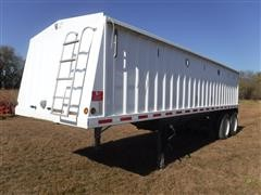 2006 Neville 28' T/A Grain Hopper Trailer