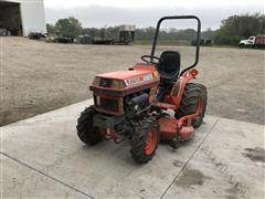 Kubota B1750 4WD Utility Tractor