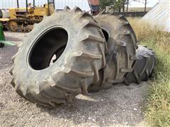24.5-32 Tire/Rims