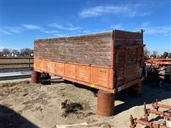 Freeman Wooden Truck Box