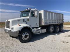 1999 Peterbilt 330 Tri/A Dump Truck