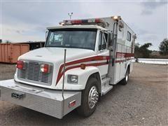 1992 Freightliner FL80 Rescue Service Truck