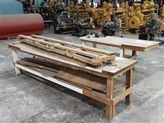Wooden Shop Tables