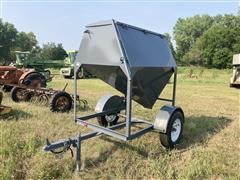 Green's Welding 1-Ton Portable Bulk Bin