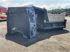 ABC Dump Truck Box W/Crossbox Front Storage Compartment