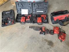 Snap-On Battery Operated Tools