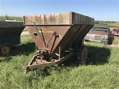 grain-O-vator Feed Wagon With Blower