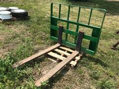 MDS Tractor Loader Pallet Fork