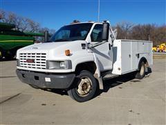 2003 GMC C5500 Service/Utility Truck With Crane
