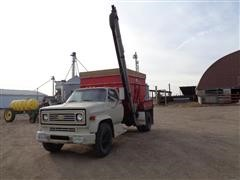 1974 Chevrolet C Seed Box Truck W/Brush Auger