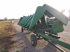 2001 John Deere 893 Corn Head & Trailer