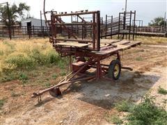 Douglas P110 Portable Cattle Hoof Trimming Table