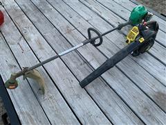 John Deere Leaf Blower & Weed Eater Trimmer