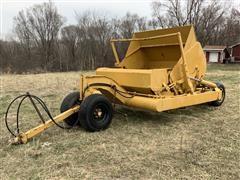 Midland M86 Pull-Type Dirt Pan Scraper