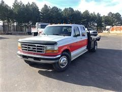 1997 Ford F350 Flatbed Pickup